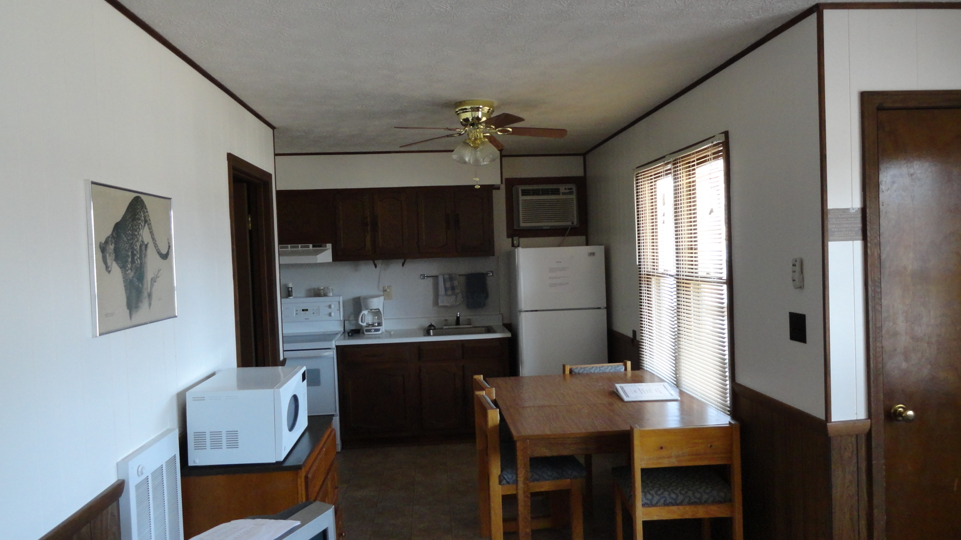 Cabin #7 or 8 (kitchen area)