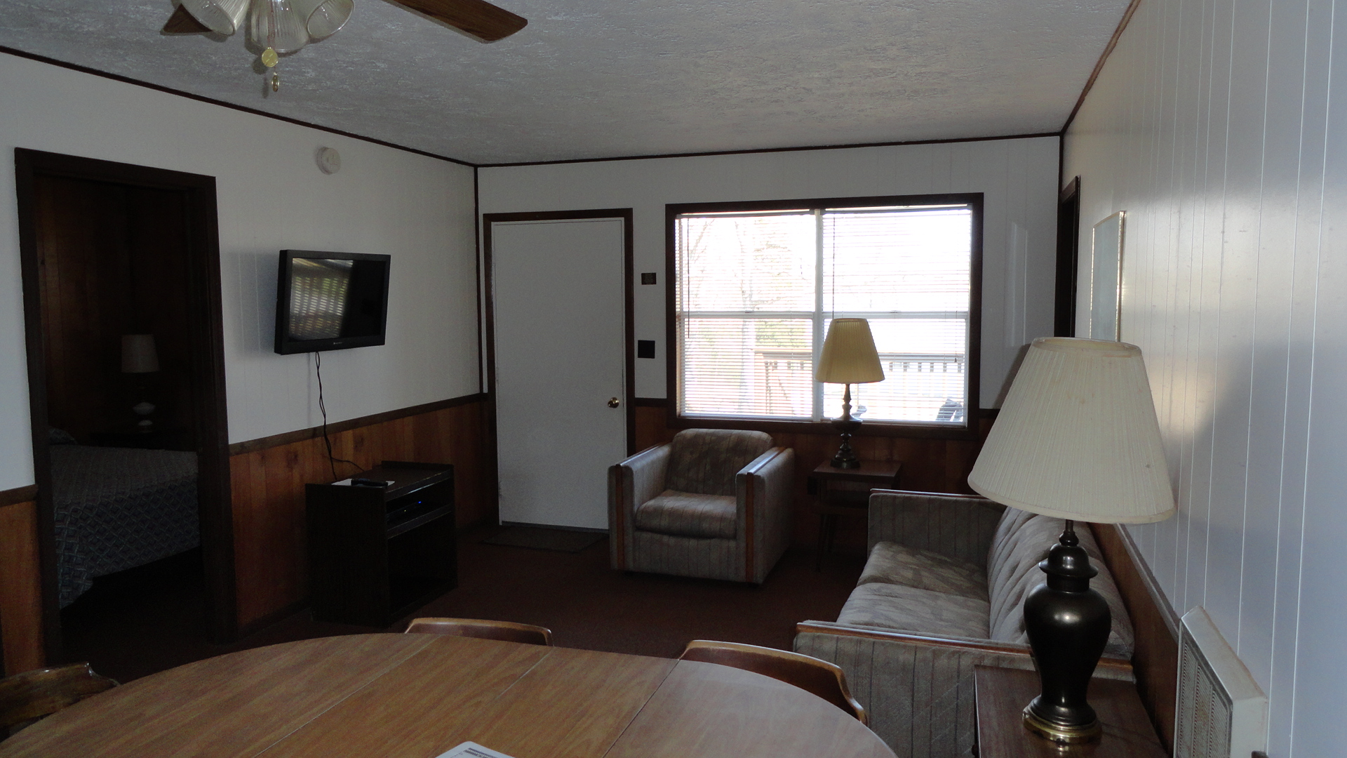 Cabin #9 or 10 (living room area)