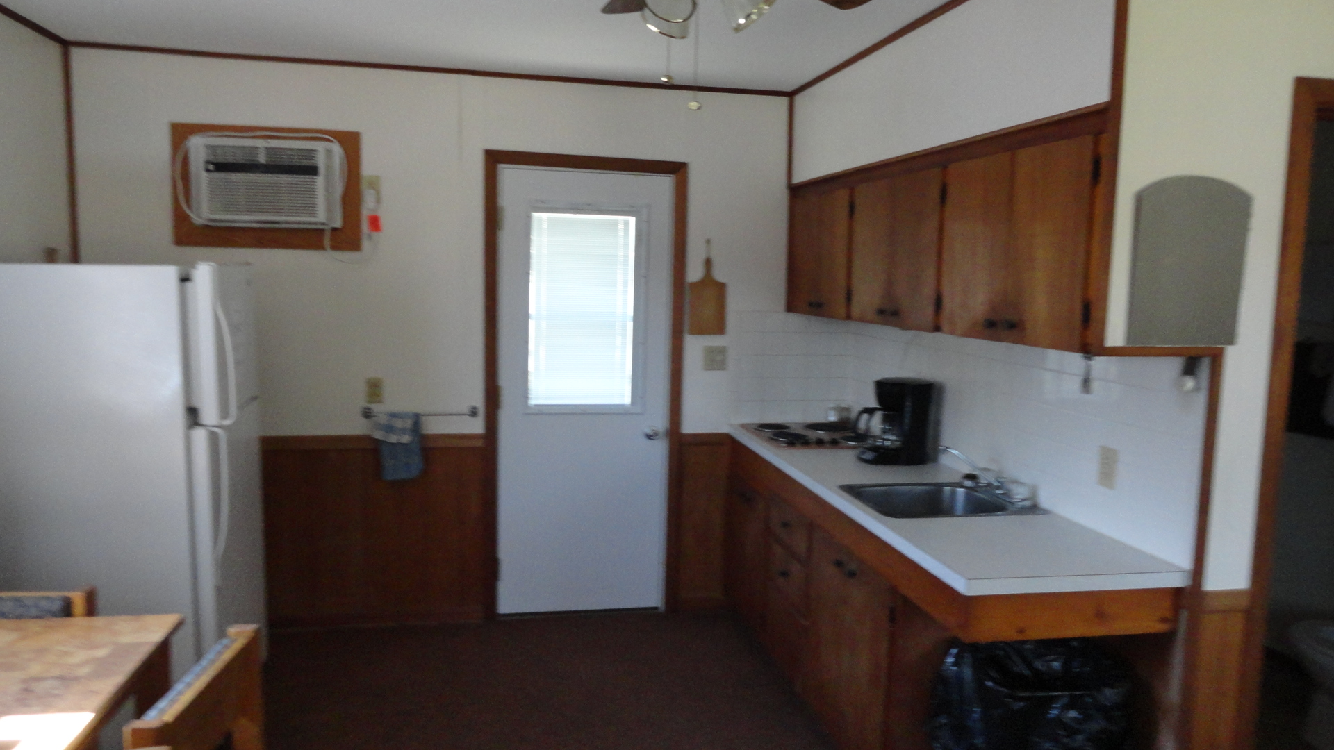 Cabin #1 or 2 (kitchen area)